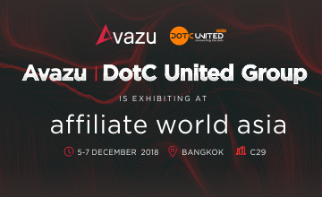 Affiliate World Asia 2018,Avazu丨DotC United Group和您在曼谷不见不散